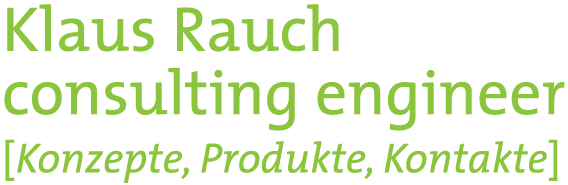 Logo Klaus Rauch - consulting engineer